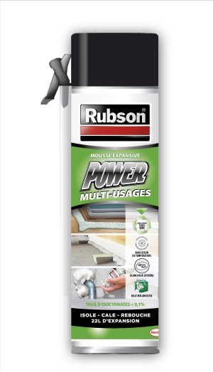 RUBSON POWER MOUSSE EXPENS.500ML 1450645