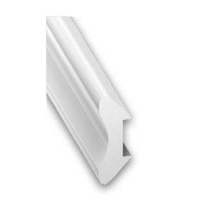 1/4 ROND PVC CELLUL.BLC 12 2,6M 2032-04