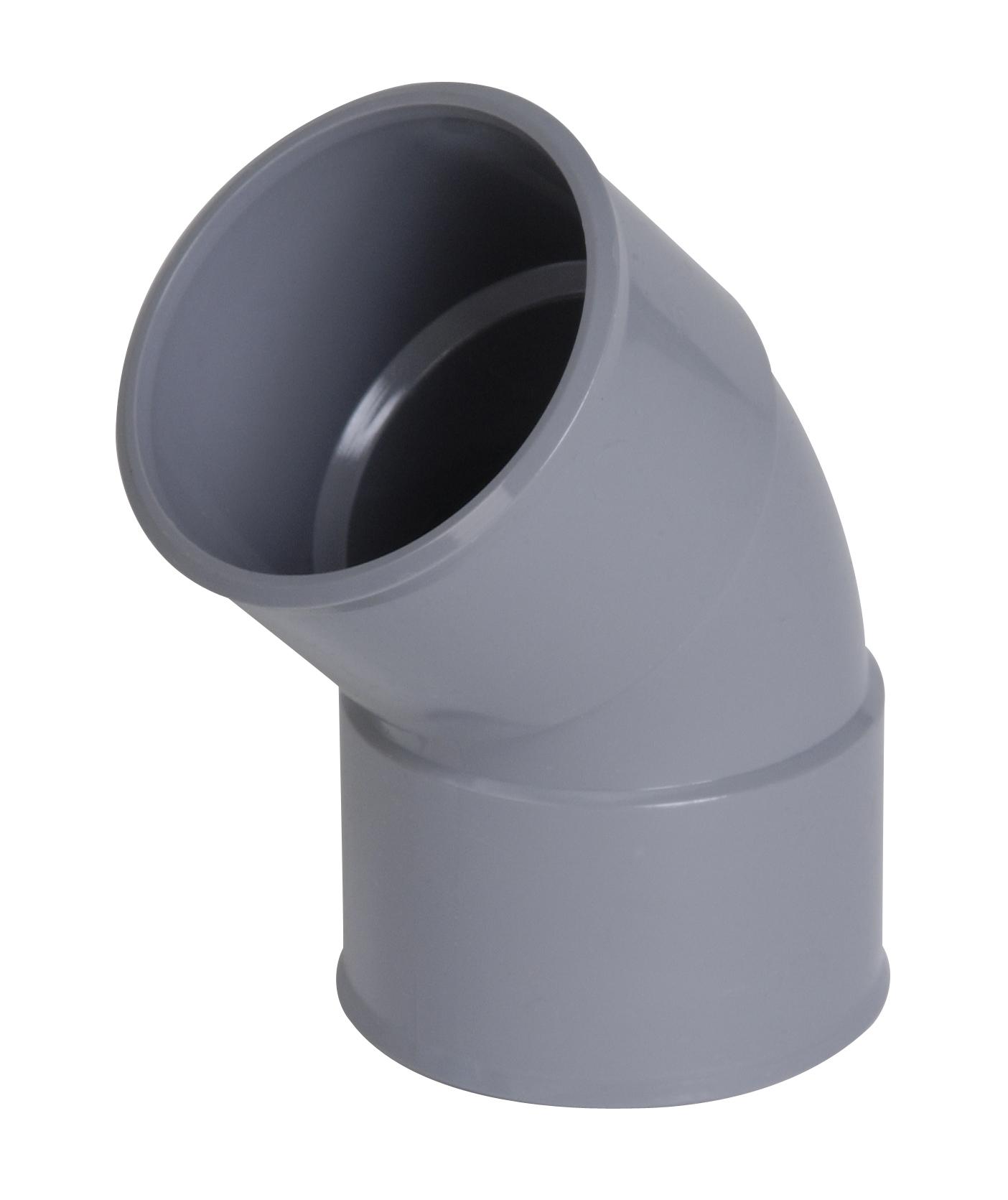 COUDE PVC 45° FF D32    UCF44