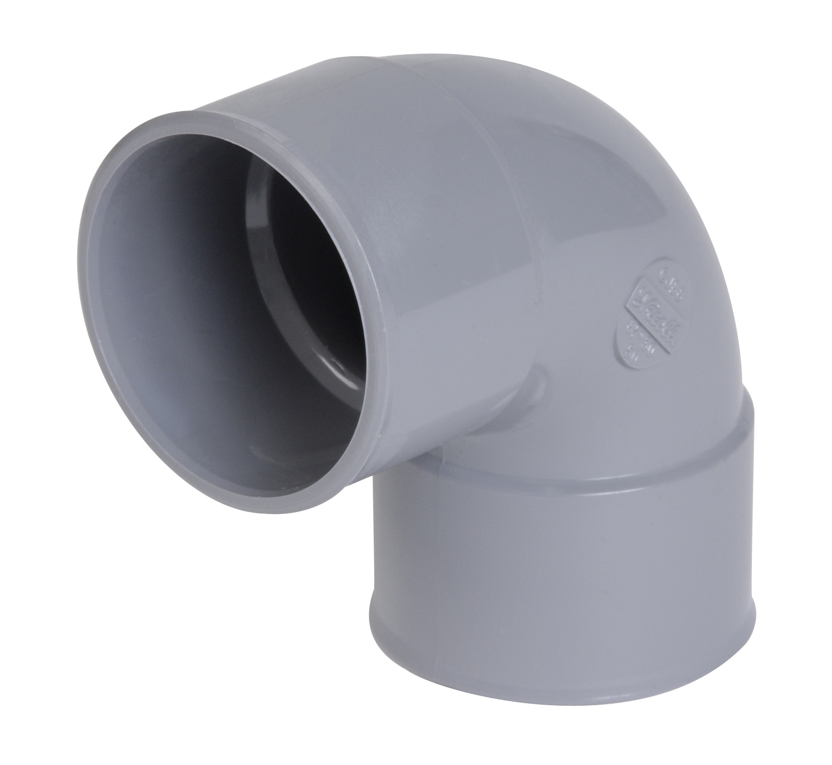 COUDE PVC 87°30 FF D40  UCH88